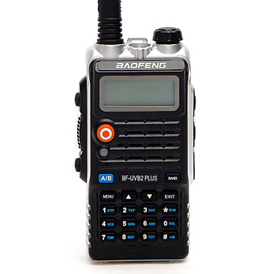 BAOFENG BF-UVB2 PLUS Funkgerät Tragbar digital Sprachansage Dual - Band Dual - Anzeige Dual - Standby CTCSS/CDCSS LCD FM-Radio 1.5 km -3