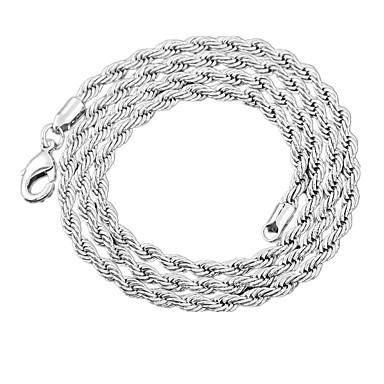 Modische Halsketten Ketten Schmuck Hochzeit / Party / Alltag / Normal / Sport Aleación / versilbert Silber 1 Stück Geschenk