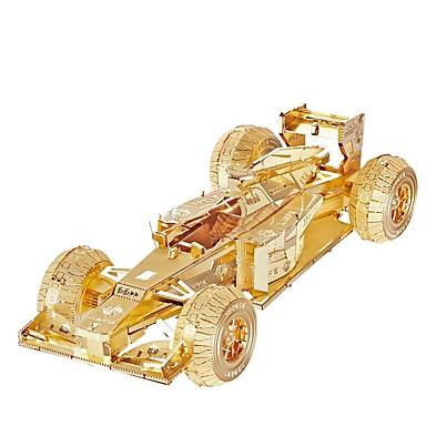 3D - Puzzle Holzpuzzle Metallpuzzle Auto Heimwerken Metal Rennauto Geschenk