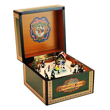abs grün kreativ für Geschenk romantische Musik-Box