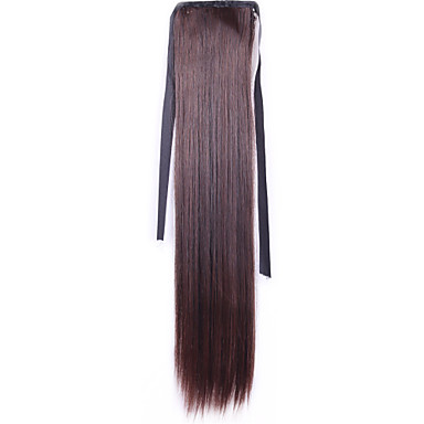Synthetic Wig Straight Women's Capless Synthetic Hair