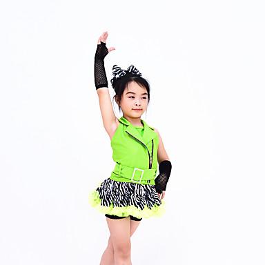 Tanz Accessoires Tanz-Handschuhe Damen Leistung Nylon Elasthan Überkreuzte Rüschen Handschuhe