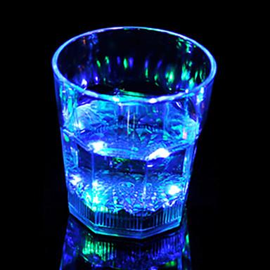 1pc colorido cor creativo pub KTV lâmpada levou luz noturna levou drinkware