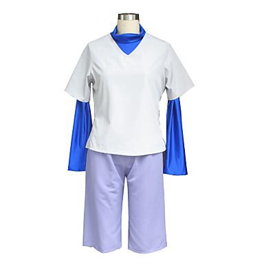 Inspirado por cazador X cazador Killua Zaoldyeck Animé Disfraces de cosplay Trajes Cosplay Un Color Chalecos / Pantalones cortos / Camiseta Para Hombre / Mujer Disfraces de Halloween