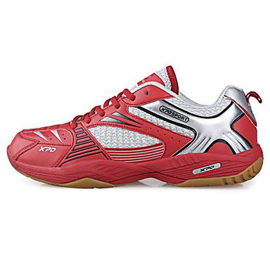 Masculino-TênisSalto Baixo-Amarelo / Vermelho-Tule-Para Esporte