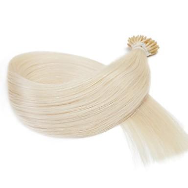 neitsi 16インチ60#レミの髪は私が人間の毛髪延長25グラム/ロットスティック先端prebonded