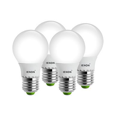 E26/E27 LED gömbbúrás izzók G60 8 SMD 400-450 lm Meleg fehér Hideg fehér Dekoratív AC 100-240 V 4 db.