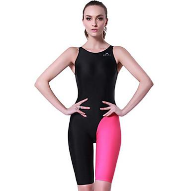SBART Mulheres roupa de banho Corpo Inteiro, Compressão Tactel Roupa de Praia Roupas de Mergulho / Roupa de Banho Natação