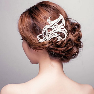 Krystal / Rhinsten / Legering Hair Combs med 1 Bryllup / Speciel Lejlighed Medaljon