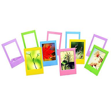 3 polegadas mesa molduras / mini quadros para Fujifilm Instax mini-8 / 7s / 90/25/50/70 filmes, 10 pack