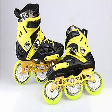Chaussures Noir / Bleu / Jaune Matières Personnalisées Chaussures de Skate Unisexe