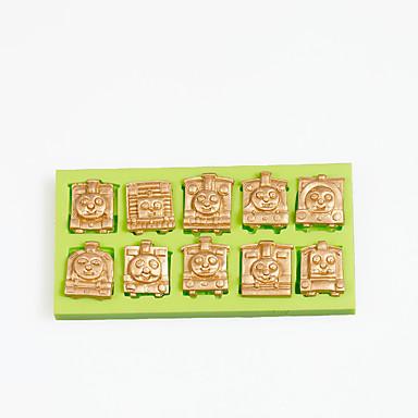 Backwerkzeuge Silikon Umweltfreundlich / Urlaub / Heimwerken Kuchen / Obstkuchen / Chocolate Cartoon Shaped Backform 1pc