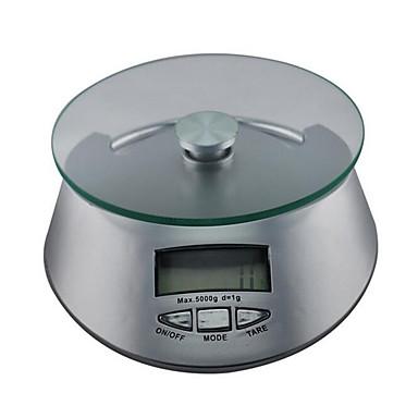 Genauigkeit 1g 5kg maximale Reichweite von elektronischen Küchenwaage Backzutaten