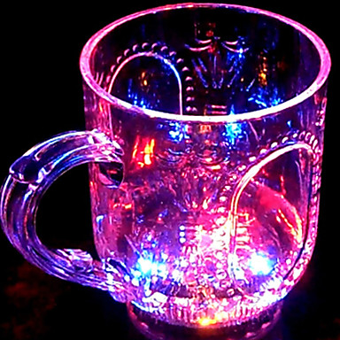 1pc bunte Farbe kreativ zufällig gesehen ktv LED-Lampe Nachtlicht Farbwechsel LED-Trinkbehälter