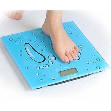 体重、温度測定電子人体の健康、ガラス体重