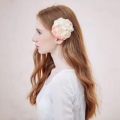 Damen Tüll Kopfschmuck-Freizeit Blumen 1 Stück