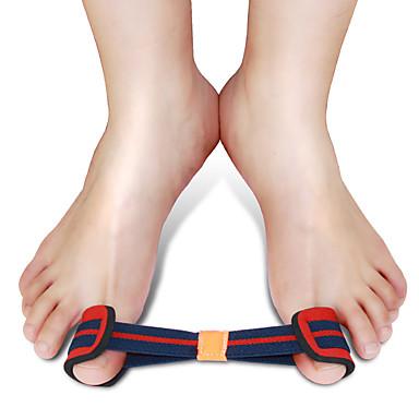 Pé Suporta Manual Toe Separadores & joanete Pad Shiatsu Suporte Dinâmicas Ajustáveis Acrílico