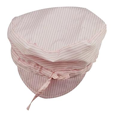 anti-statisk støvfritt hatter hatantistatisk antistatisk coolie lue stripete rosa slips hat