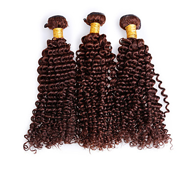 Tissages de cheveux humains Cheveux Brésiliens Très Frisé 3 Pièces tissages de cheveux
