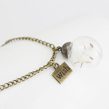 Femme Mode Ajustable Fait à la Main Pendentif de collier Pendentif Alliage Pendentif de collier Pendentif , Quotidien Décontracté