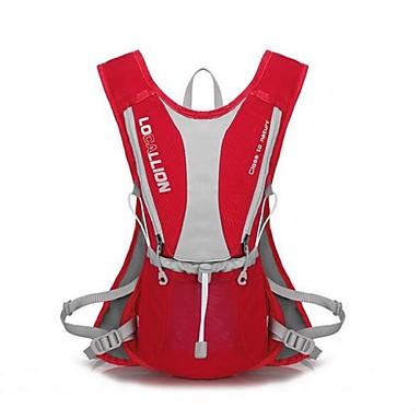 Radfahren Rucksack Rucksack für Freizeit Sport Reisen Laufen Sporttasche Reflexstreifen tragbar Atmungsaktiv Multifunktions