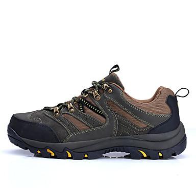 登山靴 男性用 耐久性 屋外 通気性メッシュ ハイキング