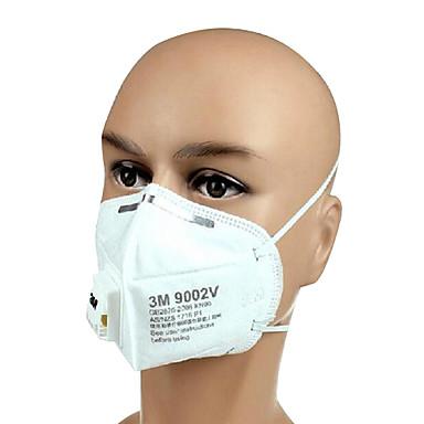 3m-9002V PM2,5 poussière masques hommes andwomen anti-brouillard et la brume masque avec valve de respiration