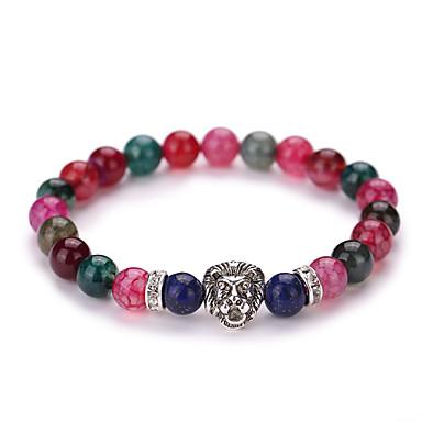Bracelets de rive Rétro Mode Adorable Style Simple Gemme Alliage Croix Forme Géométrique Bijoux Soirée Quotidien Décontracté