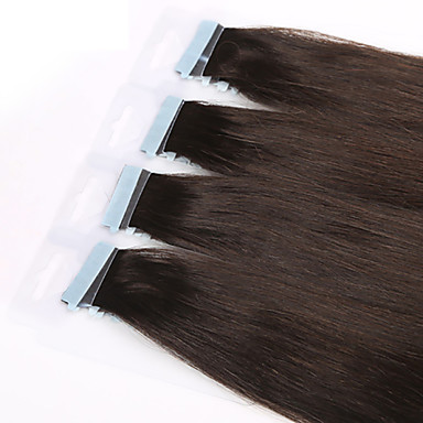 φθίνουσα σειρά Remy ανθρώπινα μαλλιά ταινία στην επέκταση μαλλιά βραζιλιάνα παρθένα κρόκη τρίχας του δέρματος μπορεί να είναι βαμμένα