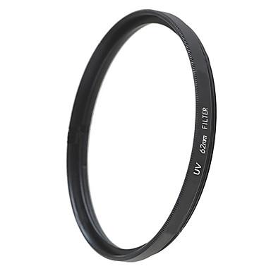 emoblitz 62 milímetros uv ultra-violeta lente filtro protetor preto