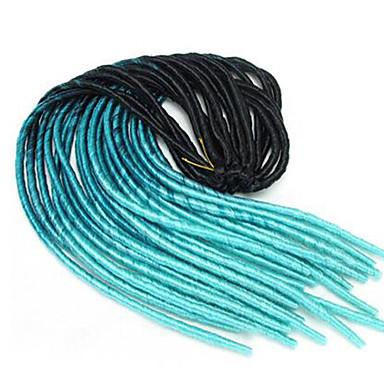 La Havane Fausses Dreads Crochet Fausses Dreads Dreadlock Extensions 100% cheveux kanekalon Dreadlocks / Faux Locs Dreadlocks Cheveux