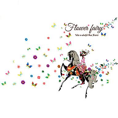 Desenho Animado Adesivos de Parede Etiquetas de parede de animal Autocolantes de Parede Decorativos, Vinil Decoração para casa Decalque