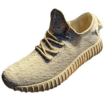 Damen Schuhe Tüll Sommer Herbst Komfort Mary Jane Sneakers Flache Schuhe Flacher Absatz Schnürsenkel Geflochtene Riemchen Für Sportlich