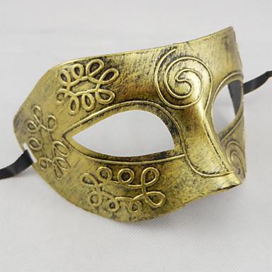 Mască de Halloween Măscă de Carnaval Jucarii Plastic Teme Horor Gladiatorul Antic Roman 1 Bucăți Halloween Mascaradă Cadou