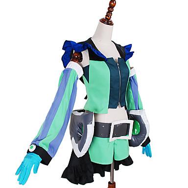 Inspiré par Macross Frontier Autres Anime Costumes Cosplay Costumes Cosplay MosaïqueVeste / Shorts / Manche / Accessoires de taille /