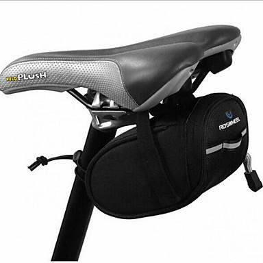Bolsa de Bicicleta Bolsa para Bagageiro de Bicicleta Prova-de-Água Vestível Tiras Refletoras Bolsa de Bicicleta Terylene Bolsa de Ciclismo