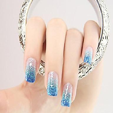 1pcs Nail Smykker Glitter & Poudre Pudder Glitters Klassisk Glitter & Sparkle Lys Bryllup Høy kvalitet Daglig