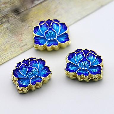 Homens Formato de Cruz Cobre Moda Jóias de Luxo Azul Jóias Para 1peça