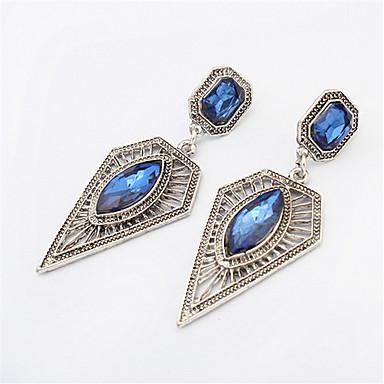 moda quadrada oco triângulo brincos jóias estilo feminino clássico