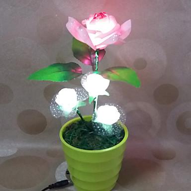 1pc הוביל מתנת חג אהבת קישוט המקורי עלתה מנורת הלילה
