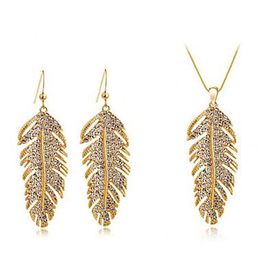 Schmuckset Halskette / Ohrringe Kristall Modisch Böhmen-Art Aleación Halsketten Ohrringe Für Alltag Normal 1 Set Hochzeitsgeschenke