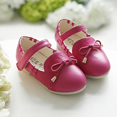 Babyschuhe-Outddor-PU-Flache Schuhe-Blau / Rosa / Rot