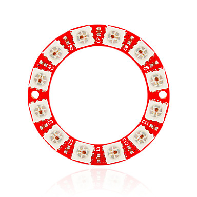 keyes ws2812-12 Vollfarb-RGB-Farbe im Inneren des LED-Modul (rot)