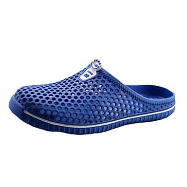 Damen Schuhe Tüll Gummi Komfort Flacher Absatz Geschlossene Spitze Für Normal Weiß Schwarz Rot Blau Hellblau