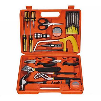 kaisi® conjuntos 22 Casas de ferramentas de hardware do grupo de ferramentas manuais, manual de manutenção de hardware