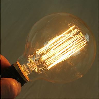 g95 e27 40w do vintage edison lâmpada incandescente lâmpada luz retro (220-240V)