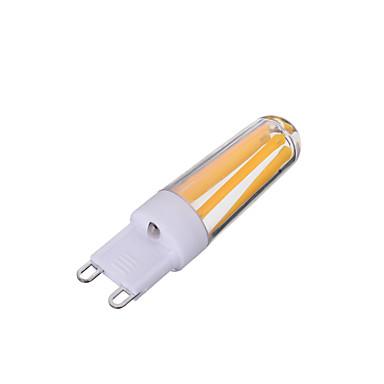 1pc 200-300 lm G9 LED Glühlampen T 4 LED-Perlen COB Abblendbar / Dekorativ Warmes Weiß / Kühles Weiß 220-240 V / 1 Stück / RoHs