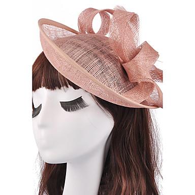 Flachs Fascinator Kopfbedeckung Hochzeitsparty elegante weibliche Stil