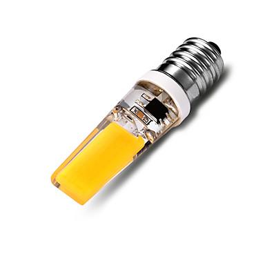 550-600 lm E14 Bombillas LED de Mazorca T 2*COB leds COB Decorativa Blanco Cálido AC 220-240V