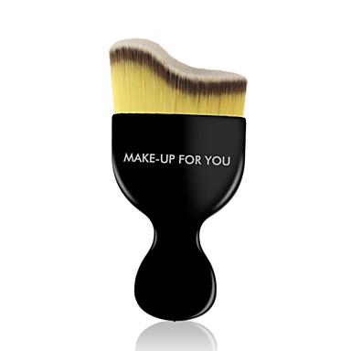 1pcs Pincéis de maquiagem Profissional Pincel para Base Pêlo Sintético Viagem / Profissional Plástico Pincel Grande
